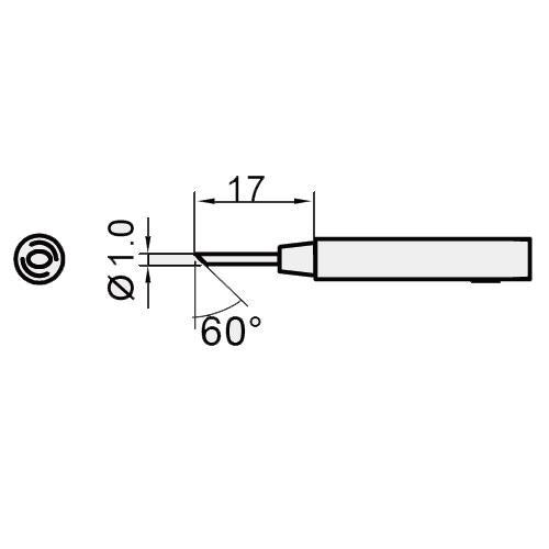 Жало паяльне Pro'sKit 5SI-216N-1C